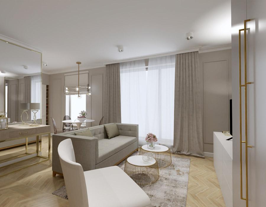 Mały wakacyjny apartament wKołobrzegu
